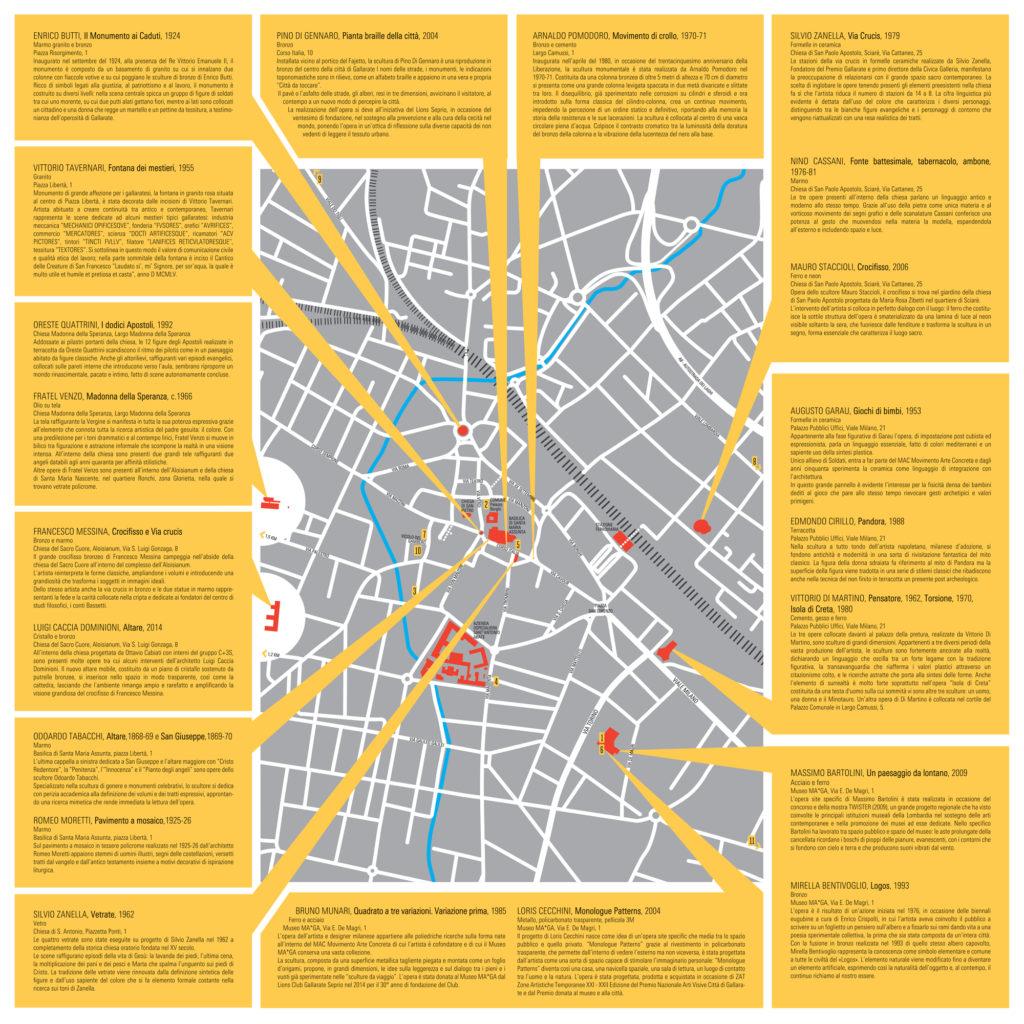 Il progetto di mappatura della città GALLARATE CONTEMPORANEA